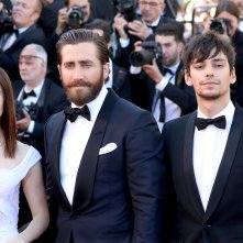 Cannes 2017: Jake Gyllenhaal e Lily Collins sul red carpet di Okja