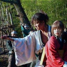Blade of the Immortal: Takuya Kimura e Hana Sugisaki in una scena