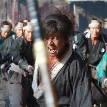 Blade of the Immortal: Takuya Kimura in una scena del film di Miike