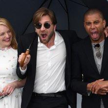 Cannes 2017: Elisabeth Moss, Ruben Ostlund e Christopher Laesso presentano The Square