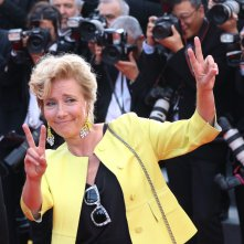 Cannes 2017: Emma Thompson sul red carpet di The Meyerowitz Stories