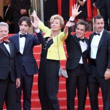 Cannes 2017: uno scatto del cast sul red carpet di The Meyerowitz Stories