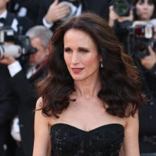 Cannes 2017: uno scatto di Andie MacDowell sul red carpet di The Killing of a Sacred Deer