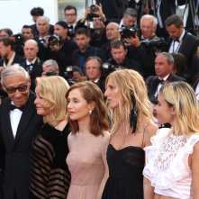 Cannes 2017: Isabelle Huppert, Catherine Deneuve sul red carpet di The Killing of a Sacred Deer