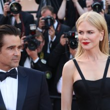 Cannes 2017: uno scatto di Nicole Kidman e Colin Farrel sul red carpet di The Killing of a Sacred Deer
