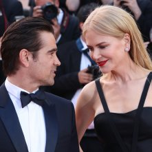 Cannes 2017: Colin Farrel e Nicole Kidman sorridenti sul red carpet di The Killing of a Sacred Deer