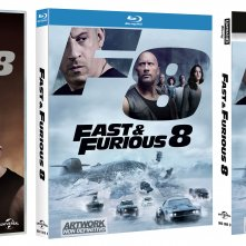 Le cover home video di Fast & Furious 8