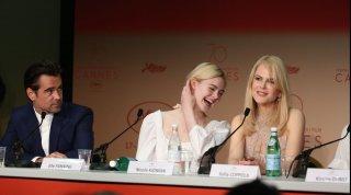 L'inganno: Elle Fanning ride seduta tra Nicole Kidman e Colin Farrell