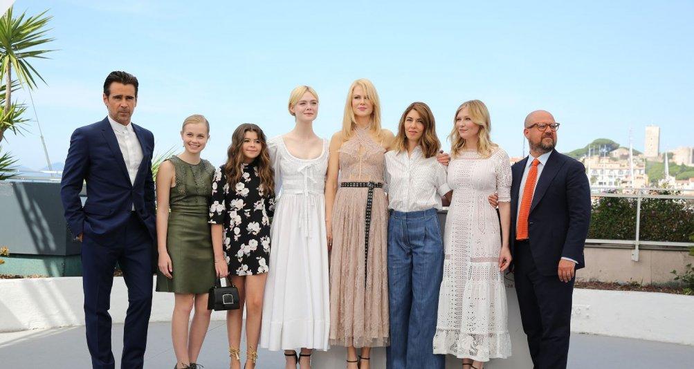L'inganno: il cast al completo a Cannes