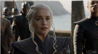 Il Trono di Spade 7, Emilia Clarke in una scena del trailer