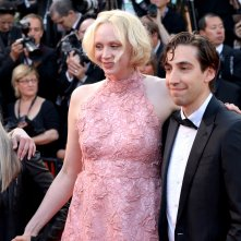 Cannes 2017: uno scatto di Gwendoline Christie sul red carpet de L'inganno