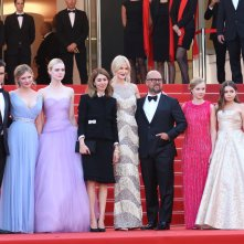 Cannes 2017: uno scatto del cast sul red carpet de L'inganno