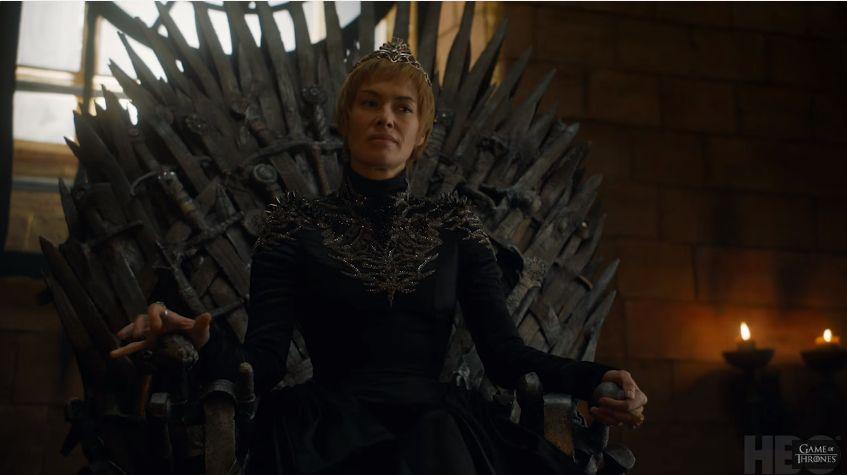 Lena Headey è Cersesi ne Il trono di spade (stagione 7)