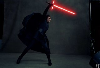 Star Wars: Gli ultimi Jedi - Kylo Ren in una foto di Vanity Fair