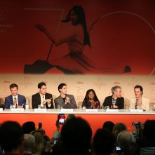 Good Time: il cast al completo in conferenza stampa a Cannes