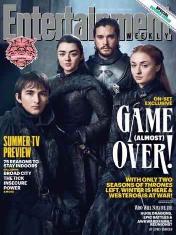 Il trono di spade: una delle copertine di Entertainment Weekly