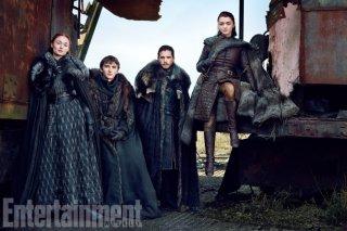 Il trono di spade: la famiglia Stark finalmente riunita