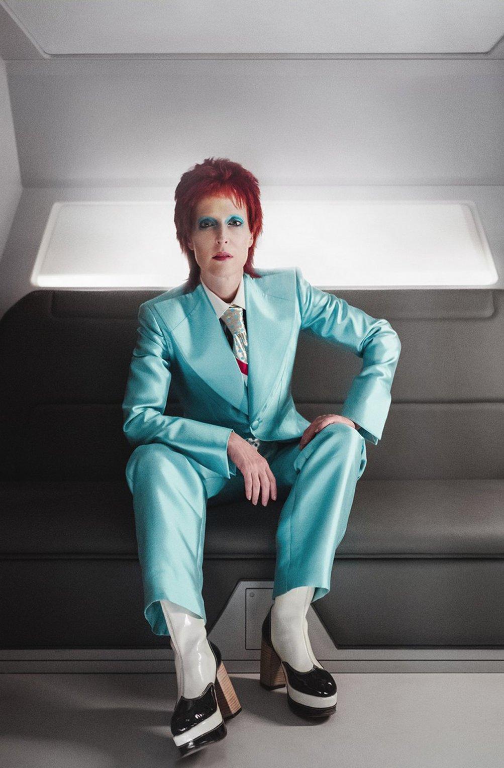 American Gods: Gillian Anderson nei panni di David Bowie