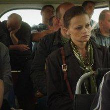 A Gentle Creature - una scena del film di Sergei Loznitsa