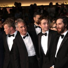 Cannes 2017: il cast prima di sfilare sul red carpet di Good Time