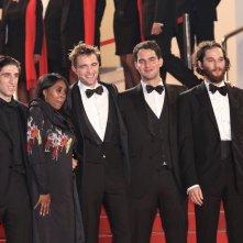 Cannes 2017: Robert Pattinson sorridente sul red carpet di Good Time