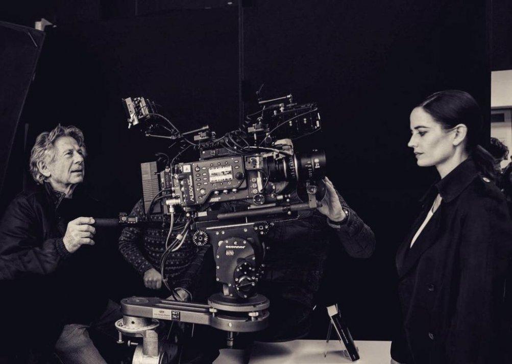 Polanski ed Eva Green sul set di Based on a True Story