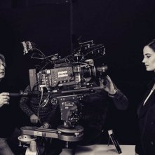 Polanski ed Eva Green sul set di Based on a True Story