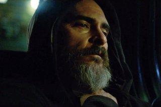 You Were Never Really Here: Joaquin Phoenix in una scena