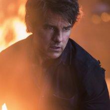 La Mummia: Tom Cruise in un momento del film