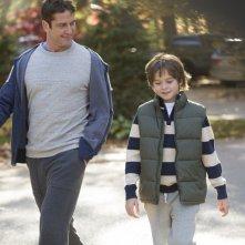 Quando un padre: Gerard Butler e Max Jenkins in una scena del film