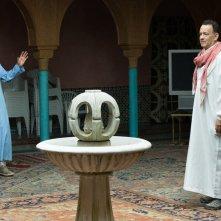 Aspettando il Re: Tom Hanks e Alexander Black in una scena del film