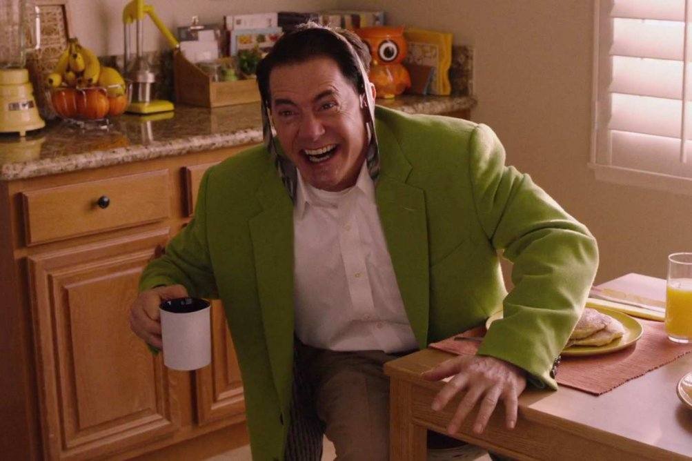 I segreti d Twin Peaks - Kyle MacLanchlan alle prese col caffè