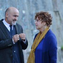 Il crimine non va in pensione: Ivano Marescotti e Stefania Sandrelli in una scena del film