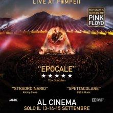 Locandina di David Gilmour Live At Pompeii