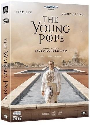 La cover del DVD di The Young Pope