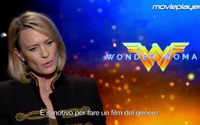 Wonder Woman: videointervista a Robin Wright