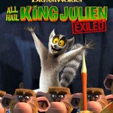 Locandina di All Hail King Julien: Exiled