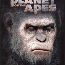 The War - Il Pianeta delle Scimmie, la copertina del libro prequel