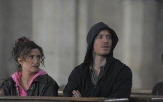 Codice criminale: Michael Fassbender e Lyndsey Marshal in una scena del film