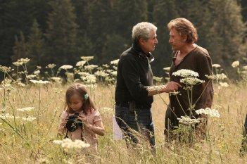 Parliamo delle mie donne: Johnny Hallyday e il regista Claude Lelouch sul set del film