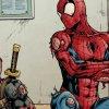 Deadpool e Spider-Man uniti dalla ceretta brasiliana
