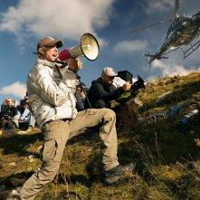 Transformers - L'ultimo cavaliere: Michael Bay al lavoro sul set del film