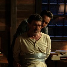 Black Butterfly: Antonio Banderas e Jonathan Rhys Meyers in un momento del film