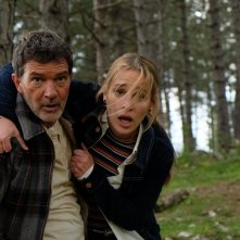 Black Butterfly: Antonio Banderas e Piper Perabo in un momento del film