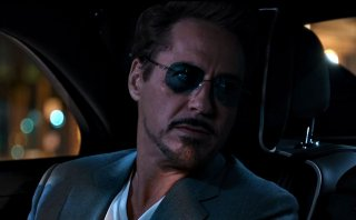 Spider-Man: Homecoming, Robert Downey Jr. in una scena del film
