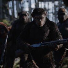 The War - Il pianeta delle scimmie: un'immagine tratta dal film