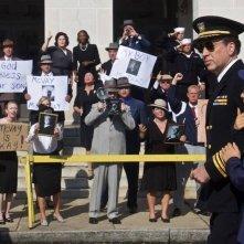 USS Indianapolis: Nicolas Cage in un momento del film