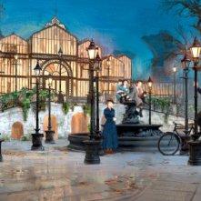 Mary Poppins Returns: un concept art del film