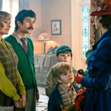 Mary Poppins Returns: una foto dei protagonisti del film