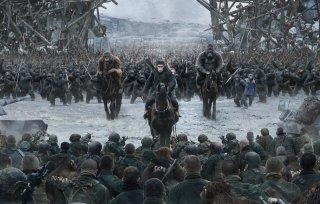 The War - Il pianeta delle scimmie: un'immagine del film